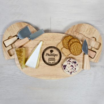 Artisan Cheese Makers Classic Cheese Board Set